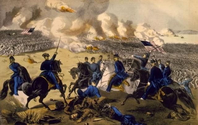 Grant wins decisive battle at Shiloh