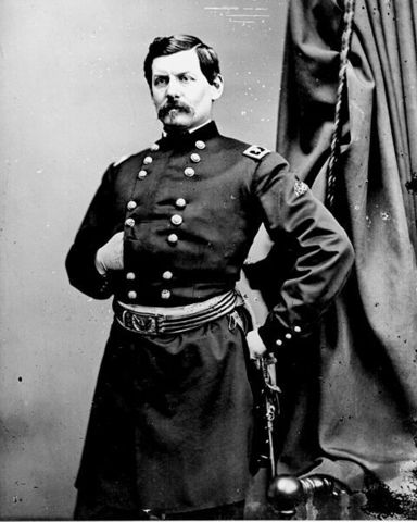 George McClellan looses seven day battle
