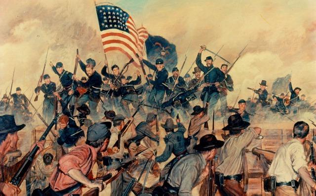 Mississippi fortress of Vicksberg falls to Grant
