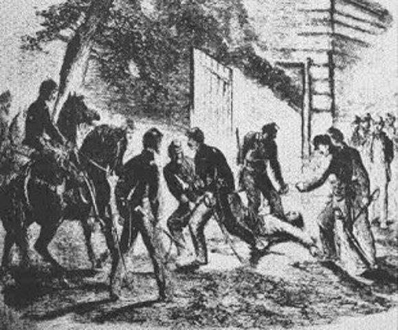 John Wilkes Booth captured
