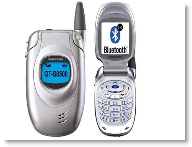 First Bluetooth Phone