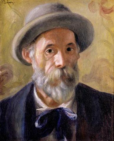 Artist Pierre Auguste Renoir's birthday