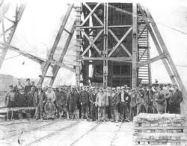 Discovery of coal.