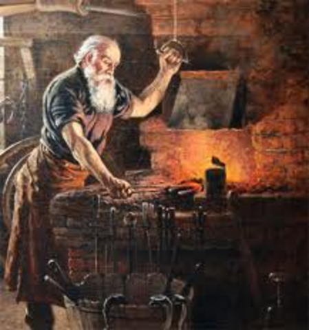 Iron and stell smelting.
