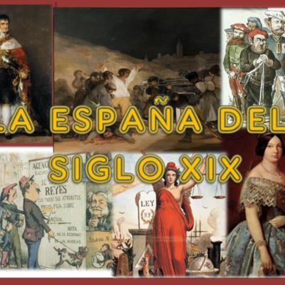 España durante el siglo XIX timeline
