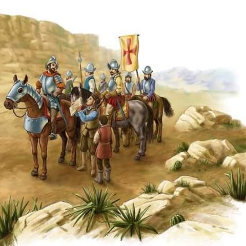 conquista de Mexico