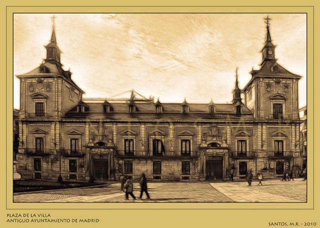 constituyó en 1541 el primer ayuntamiento de la ciudad. Pedro mendoza