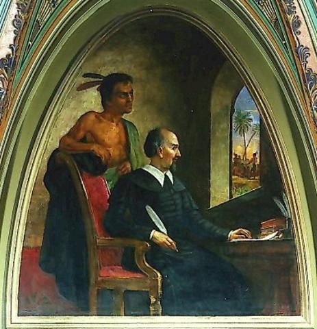 De las Casas murió en Madrid en 1566 y es hoy reconocido universalmente como uno de los precursores en la teoría y en la práctica de la defensa de los derechos humanos.