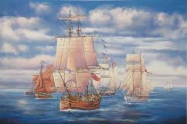 The First Fleet in Australia