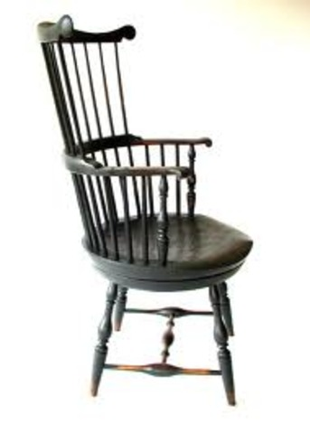 Swivel Chair invented by Thomas Jefferson