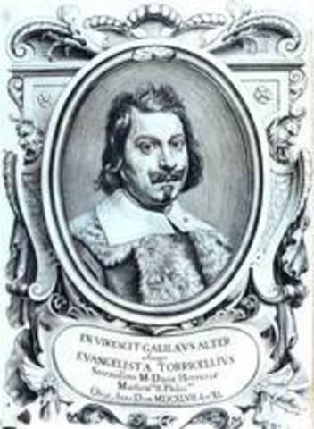 Barometer invented by Evangelista Torricelli