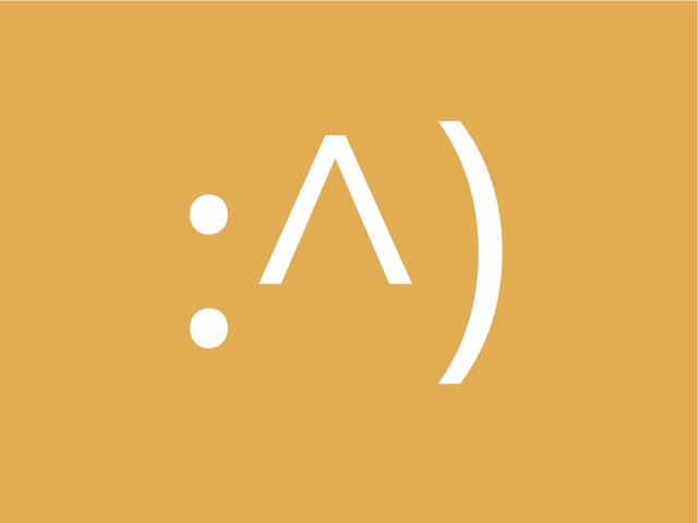 Origins of the Smiley on the Internet