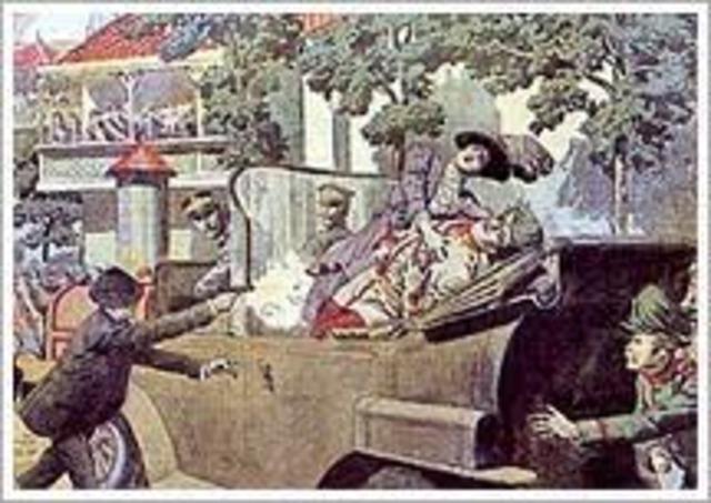 Asesinato del Archiduque Franciso Fernando de Austria