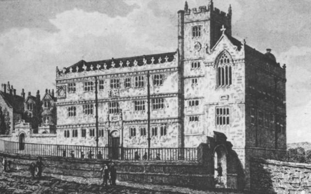 Escuela de Shrewsbury.
