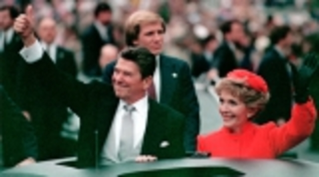 Reagan's first inaugeration