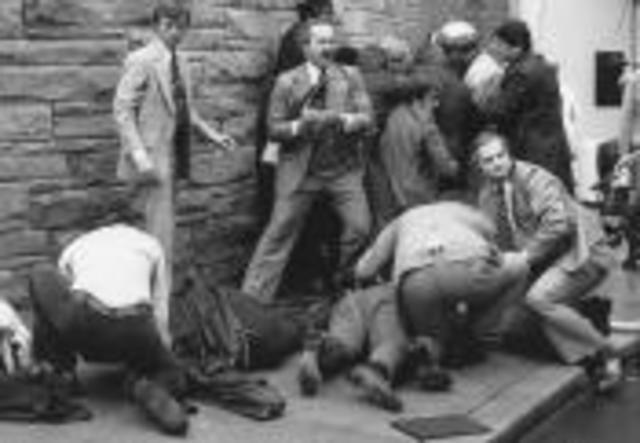 Assassination attempt on Reagan