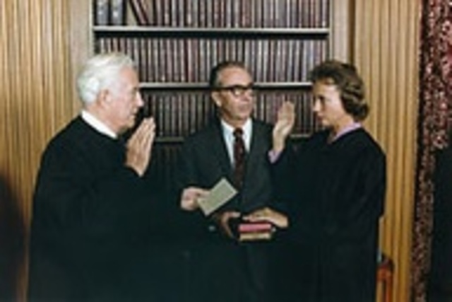 First female appointed to the US Supreme Court