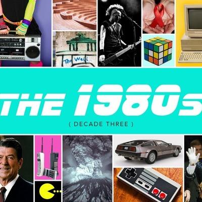 Pop Culture 1980s timeline