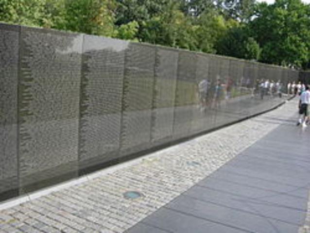 Vietnam Memorial dedication