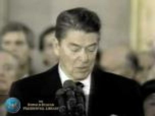 Reagan's second inauguration speech