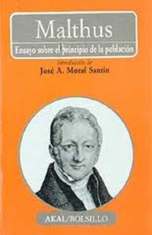 Obra de Thomas Malthus.