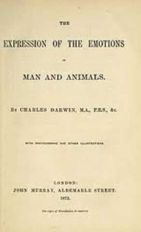 """""""The Expression of the Emotions in Man and Animals""""."""