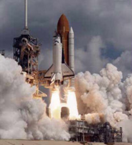 First space shuttle mission
