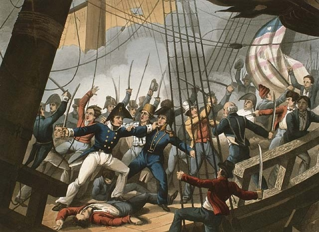 The First Battle Of Sackets Harbour