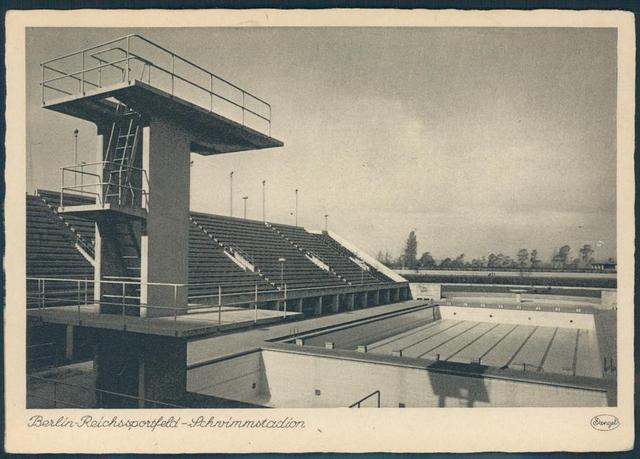 Diving Blocks First Appeared at Berlin Olympics