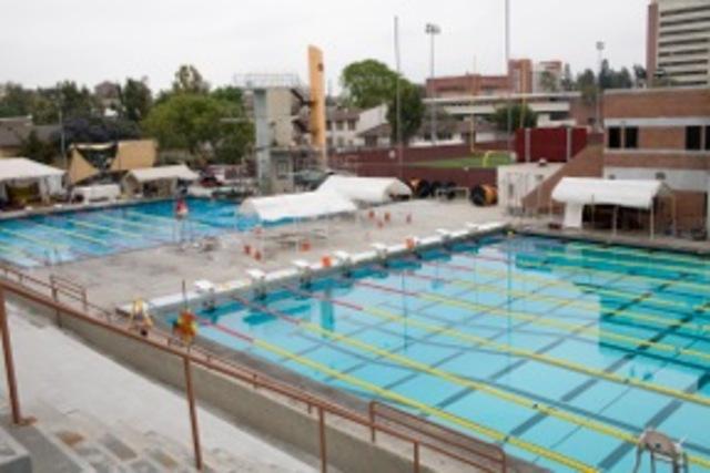 Moveable Bulkhead at Los Angeles Olympics