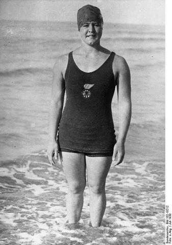 First Woman to Swim Across the English Channel