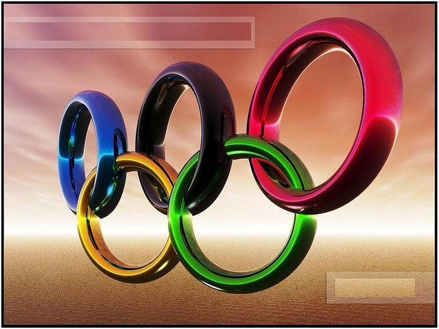 Start of Beijing Olympics on my birthday