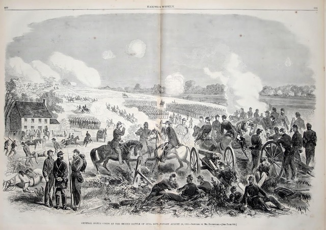 Confederates Win the Second Bull Run
