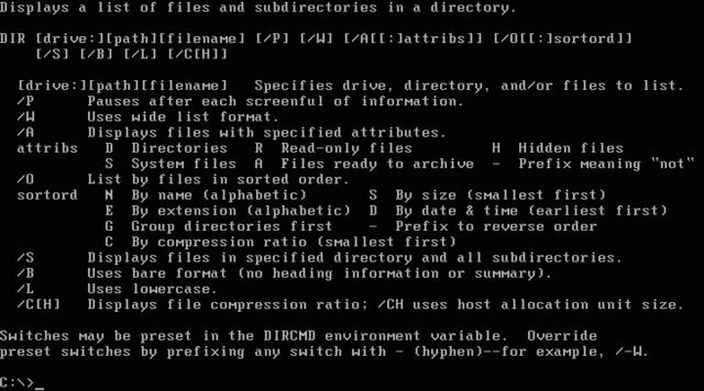 QDOS...PC-DOS...Y... MS-DOS