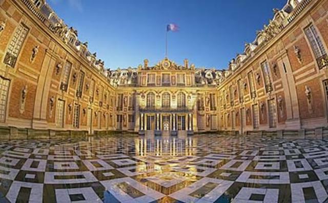 Louis XIV Begins Building the Palace at Versailles