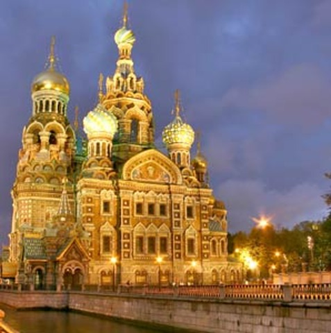 Peter the Great Orders St. Petersburg to be Built