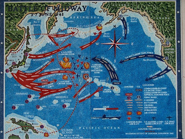Battle at midway