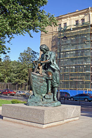 """Peter the Great embarks on his """"Grand Embassy"""""""