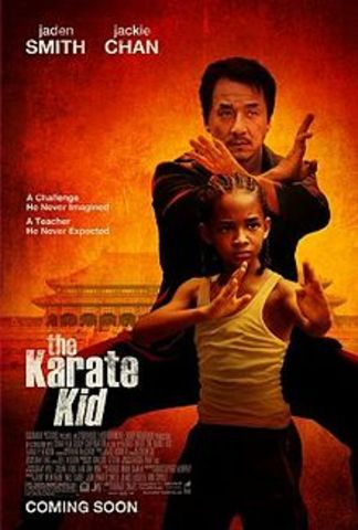 Will Smith appears in The Karate Kid!