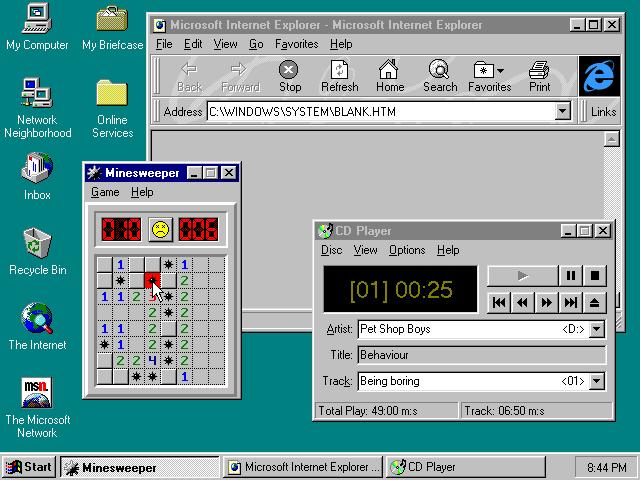 WINDOWS 95 (1.995)