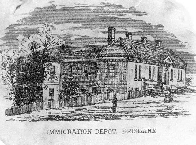 Convict transported to Australia stops