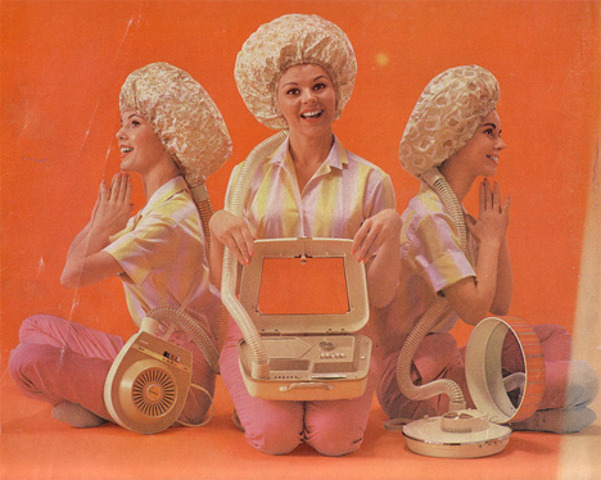 Bonnet hair dryer