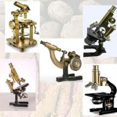 Historia del microscopio timeline