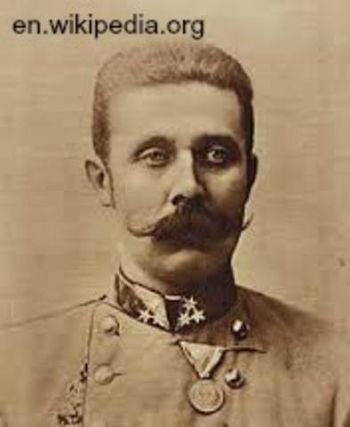 Archduke Franz Ferdinand is Killed