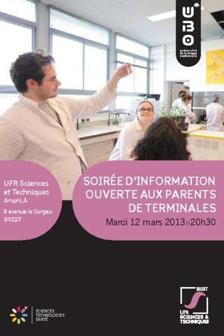 Information aux parents sur les études scientifiques