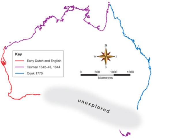 Major areas of Australia mapped