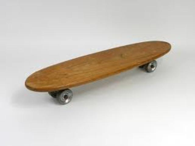 History of skateboards