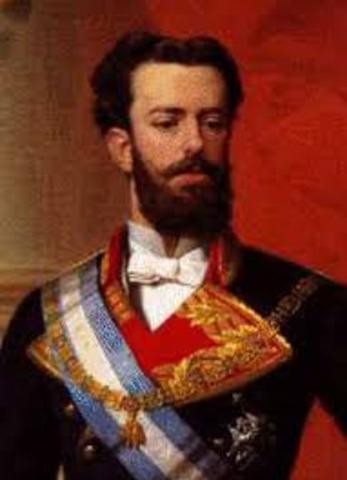 Amadeo I of Saboya  1845