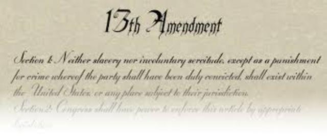 amendment 13