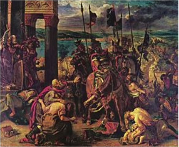 The armies of the Fourth Crusade
